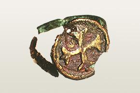 Pierscionek z krzyzem maltanskim oryginal